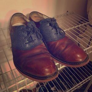 Men's Cole Haan two tone shoes size 9.5